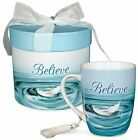 Believe Mug, Feather