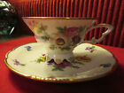 MITTERTEICH BAVARIA GERMANY 020 FLOWER BOUQUET DAINTY tea CUP & SAUCER CHINA