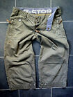 G STAR  ! WOMENS W28-32 SHORTS 3/4 TROUSERS JEANS MILITARY CARGO COMBAT STYLE