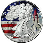 1 Dollar American Silver Eagle 2014 colored edition Space Shuttle