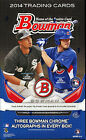 2014 Bowman Baseball Cards Hobby Jumbo Packs Box - Fresh From Case