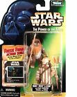 Kenner Star Wars POTF Ewoks Wicket & Logray Freeze Frame w/Staff, Med Pouch ++