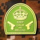 KEEP CALM AND RELOAD - TACTICAL MILITARY VELCRO MORALE PATCH