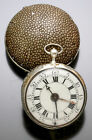 Rare Early Verge Fusee Two Train Pair Case Bell Alarm Pocket Watch Circa 1660