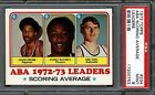 1973 Topps Julius Erving HOF ABA Scoring Leaders PSA 9 MINT