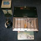 Coleman 2 Burner Stove New + Lantern+ Propane Hibachi+Cook Set+ 5 BBQ Utensils