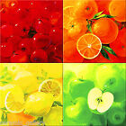 6x6 Home Decor Ceramic Art Painting_FRUIT_FRUITS_4 Custom Mosaic Craft Tile Set