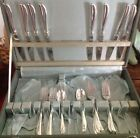 International Old Company Plate 1958 Radiance Silverplate 28 pc Set