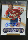 2011 Upper Deck World of Sports Bobby Hull autograph insert Team Canada