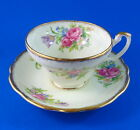 Floral Bouquet Foley Tulip Tea Cup and Saucer Set