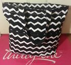 Brand New Fall 2014 Thirty One Retro Metro Fold-Over in Black Chevron!! C