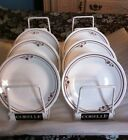 6 CORELLE, MELODY BREAD & BUTTER PLATES, Excellent