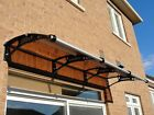 Polycarbonate Awning / Canopy for door, window and patio. CANOFIX PC-3 (38