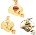 NCAA Football Team 3D Helmet Charm Necklace Select Your Team Official Jewelry