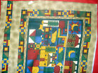 6 Fabric Pillow PANELS - MIXED COUNTRY STYLES - FREE SHIPPING