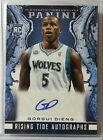 2013 14 panini Gorgui Dieng auto rc timber wolves