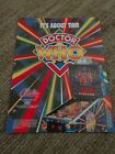 Original Bally pinball advertising flyer - Doctor Who
