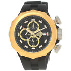 Invicta Men's I-Force Stainless Steel Chronograph Black Silicone Watch 16910