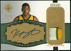 2007-08 Kevin Durant Upper Deck Ultimate RC Rookie Logo Patch Auto 25