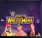 2014 WWE Road to Wrestlemainia Hobby Trading Card Box MINT Topps