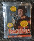1988 Topps Fright Flicks Wax Box 48 Packs Freddy Krueger trading Movie cards
