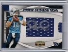 2011 Gridiron Gear Jake Locker Rookie Gems Pull-Out Jersey Auto RC #036 204