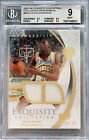 2007-08 Kevin Durant Upper Deck Exquisite Exclusives RC Rookie Patch 35 BGS 9
