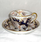 Very Fine Newhall Cup and Saucer Imari Colors c. 1795