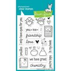 Lawn Fawn Clear Stamps Science Of Love LF597