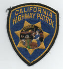 Old Obsolete Original California Highway Patrol Patch with California Seal