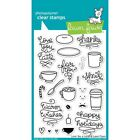 Lawn Fawn Clear Stamps LF704 Love You a Latte