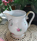 Vintage Bavaria Germany Pattern Winterling China Pitcher