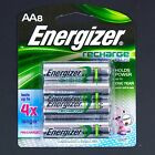 Energizer AA Rechargeable Recharge Power Plus 8 Pack NIMH 1.2V 2300 mAh NEW