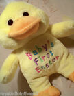 BABY'S 1st EASTER DUCK BIRD~7