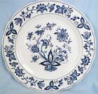 Blue Bonnet Dinner Plate Harmony House Sears 4270 Blue White Porcelain Vintage