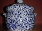 Blue Spatterware 'Country Life' by Emporium of Maine Soup Tureen