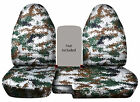 Cc 91-97 Ford Ranger Tree Camo Car Seat Covers 60-40 Highback Seatchoose Color
