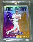 1998 DONRUSS CRUSADE PURPLE FRED MCGRIFF 017 100 BRAVES