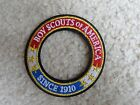 Boy Scout BSA Just Issued 1910 World Crest Award Ring Uniform Badge Patch