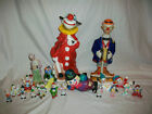 Clown Collection Figures Universal Statuary Decanter Porcilain Figures Bank