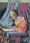 Cewec Tapestry Needlepoint KIT Woman Writing at Desk Denmark Wool NEW