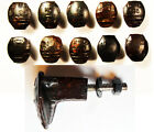 10 Railroad Spike Knobs Door Pull Cupboard Dresser Drawer Antique Vintage Rustic