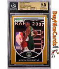 2007-08 Kevin Durant Bowman Chrome Gold Refractor RC Rookie 99 99 BGS 9.5 1 1