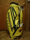 BRAND NEW Limited Edition Bridgestone 2014 Masters Staff cart bag 9 inch   NEW