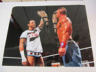 EXCLUSIVE RARE WWE JOHN CENA AND CM PUNK WIZARD WORLD CHICAGO 2012 11X14 PHOTO