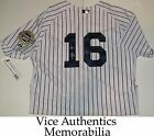 Whitey Ford Signed Auto New York Yankees Authentic Jersey w HOF 74 Proof