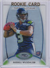 Russell Wilson 2012 TOPPS PLATINUM ROOKIE CARD Seattle Seahawks Football RC!