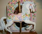 Westland Musical Carousel horse with mirror in rear