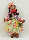 Vintage Paper Mache Doll Mexican Folk Art - handcrafted - Beautiful!