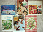 Lot 6~Wisconsin Electric Co COOKIE COOKY COOKBOOKS COOK BOOKS~1964-1972